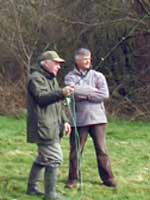 picture: Fly casting tuition Lincoln, Lincolnshire.