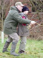 Picture: picture: Instruction in fly casting for all ages and all levels